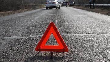 На трассе в Смоленской области произошло серьезное столкновение двух автомобилей
