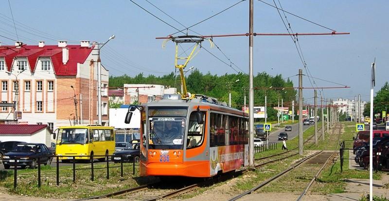 В Смоленске прекращается движение трамваев.