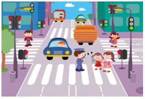Смоленское ГИБДД провели профилактическую акцию «Переходи дорогу правильно!».