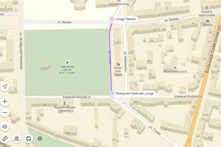1 июня улица Глинки в Смоленске будет закрыта для автотранспорта
