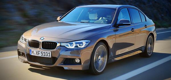 Обновленную версию BMW 3-Series рассекретили до премьеры