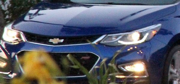 Новый Chevrolet Cruze замечен на тестах
