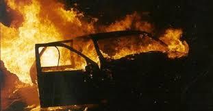 Ночью в Стодолище горел автомобиль Volkswagen.