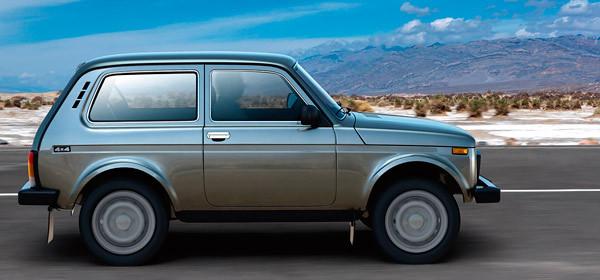 АвтоВАЗ улучшит внедорожник Lada 4х4