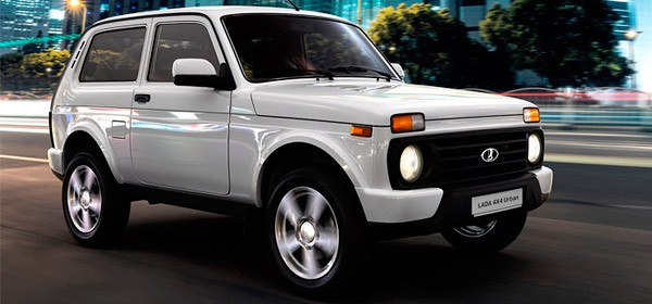 Lada 4×4 получит новые цвета и другую обивку сидений