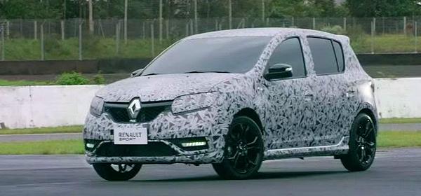 Самый мощный Renault Sandero получит мотор от Duster