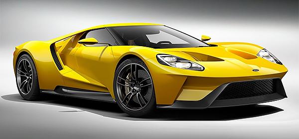 Названа дата премьеры гоночного Ford GT