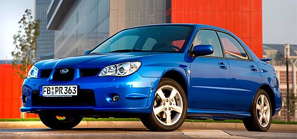 Subaru отзывает более 4 тысяч автомобилей в России