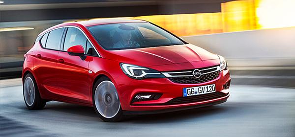 Opel представил новую Astra
