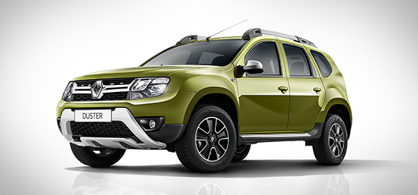 Renault обновил кроссовер Duster