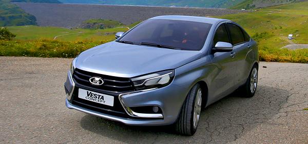 Новые опции для Lada Vesta разработают в «Сколково»
