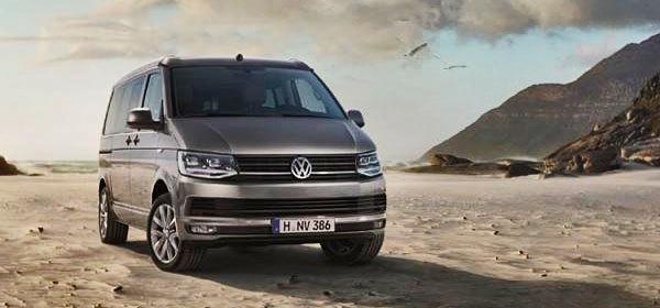 Volkswagen представил новый минивэн California