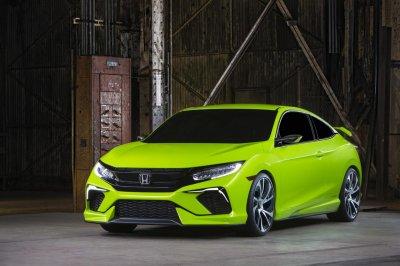 Новое поколение Honda Civic представят осенью 2015 года