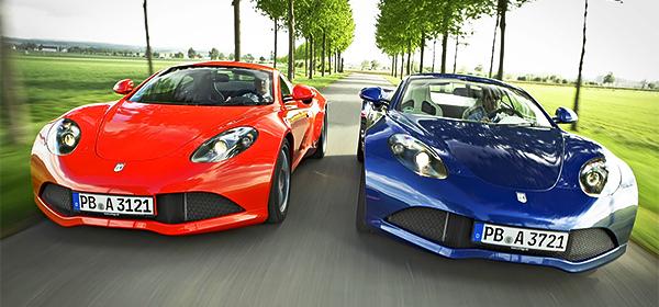 В Германии возродили автомобильный бренд Artega
