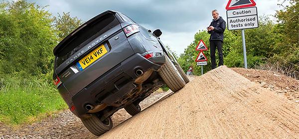 Land Rover представил внедорожник, которым можно управлять через смартфон