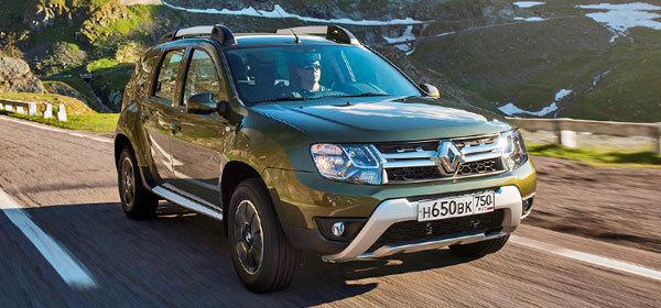 Renault назвал российские цены на обновленный Duster