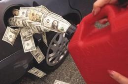 Смоляне снова отметили рост цен на бензин в области.