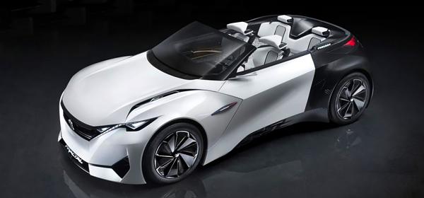 Peugeot представил купе с открытым верхом