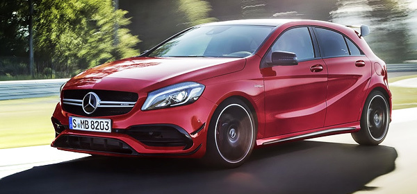 Mercedes назвал российские цены на обновленный A-Сlass