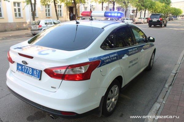 В Смоленской области угонщика поймали раньше, чем хозяин заявил о пропаже автомобиля