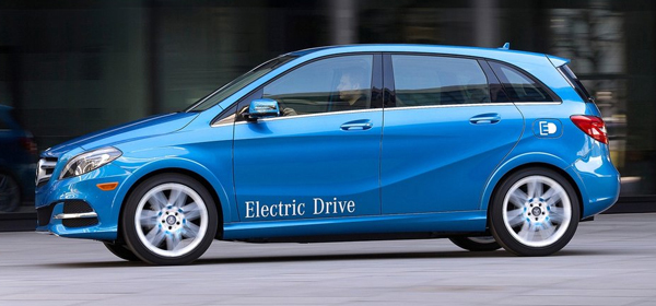 Запас хода нового электрокара Mercedes составит 500 километров