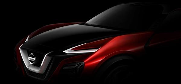 Nissan опубликовала первое изображение нового кроссовера