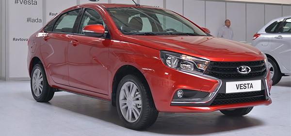 АвтоВАЗ назвал предварительную стоимость Lada Vesta