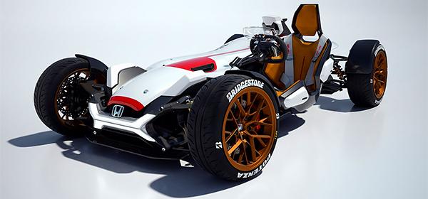 Honda привезет во Франкфурт спорткар с двигателем от мотоцикла