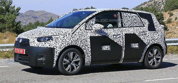 Opel Meriva превратят в кроссовер
