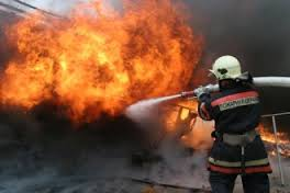 В Вязьме ночью сгорел автомобиль.