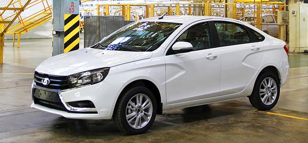 Lada Vesta поступит в продажу с 106-сильным бензиновым мотором