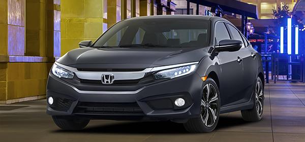Honda официально представила новый седан Civic