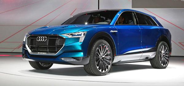 Модельная линейка Audi пополнится двумя электрокарами