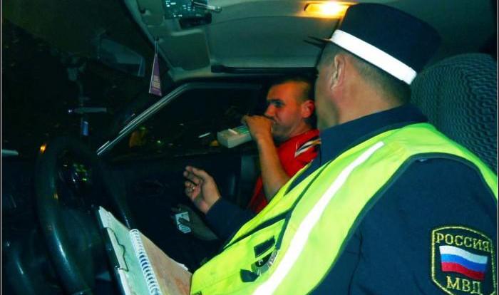 Количество пьяных водителей не уменьшается.