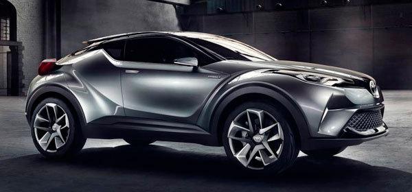 Toyota покажет на автосалоне в Женеве конкурента Nissan Juke