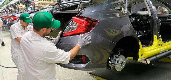 Honda начала производство нового седана Civic