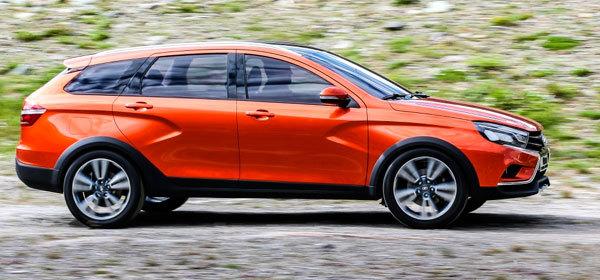 Серийное производство вседорожной Lada Vesta начнется в сентябре 2016 года