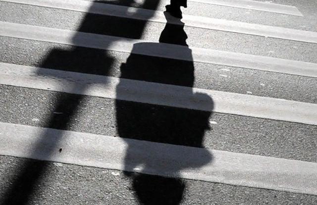 В Рославльском районе водитель иномарки сбил пешехода.