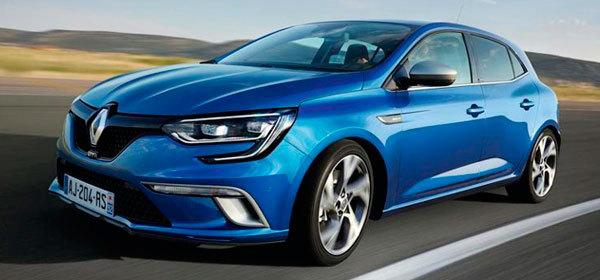 Рассекречена моторная гамма нового Renault Megane