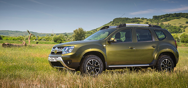 В России начались продажи Renault Duster с системой дистанционного запуска двигателя