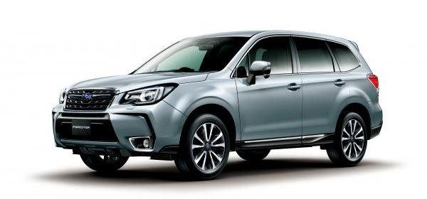 Subaru представила обновленный Forester