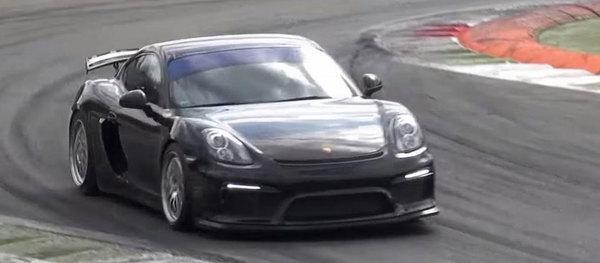 Porsche Cayman получит гоночную версию