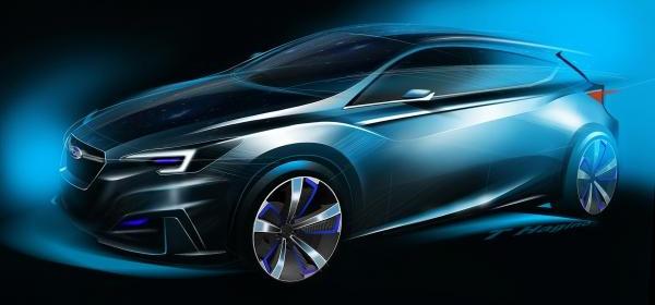 Subaru показала предвестника новой Impreza