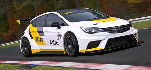 Opel представил гоночную версию Astra