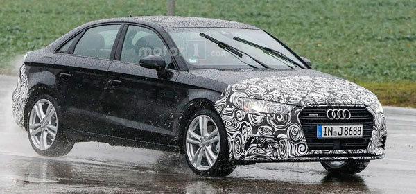 Седан Audi A3 получит обновленную версию