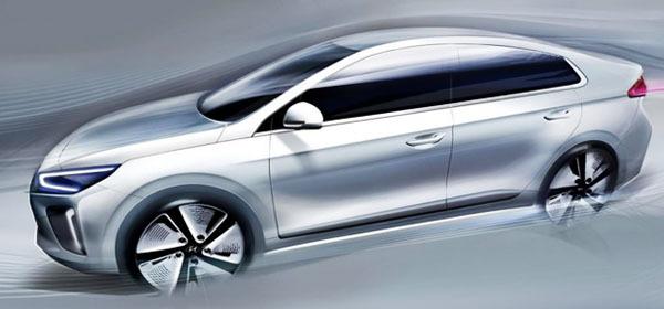 Hyundai показал свой первый электрокар