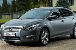 Nissan объявил об отзыве Teana в России