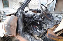 В Смоленской области от огня погибла «Газель»