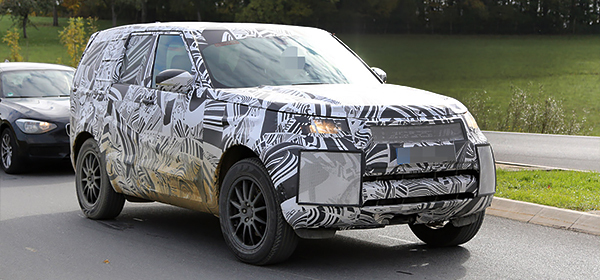 Новый Land Rover Discovery представят в 2016 году