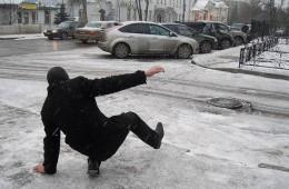 В Смоленской области 30 декабря на дорогах гололед